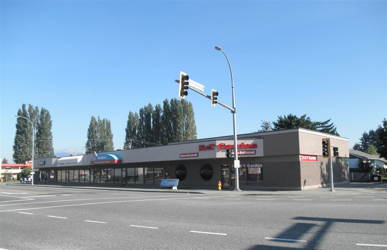 """FOR LEASE"" 1,773 SF Commercial Retail Space for lease at the corner of Young Rd/Hocking Ave next to Chilliwack City Hall. Formerly used as a Hair Salon with store front. Zoned C-2. Base rent at $13/sf/annum, Additional rent at $6/sf/annum. Separate HVAC system & 26 common area parking at rear. Lease rate can be negotiated and the Landlord will offer one month free rent period."