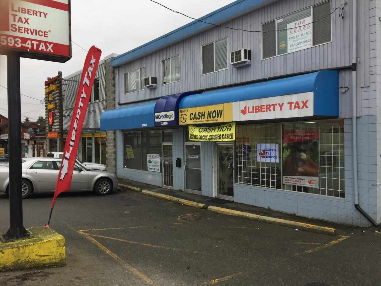 """""""FOR LEASE"""" 792 SF, 2nd level Office space fronting 72 Ave with high foot traffic. Base rent at $10.00/SF/ Annum and additional rent at $6.00 (2016) SF/ Annum & comes with 2 designated parking stalls. Easy to show, call."""