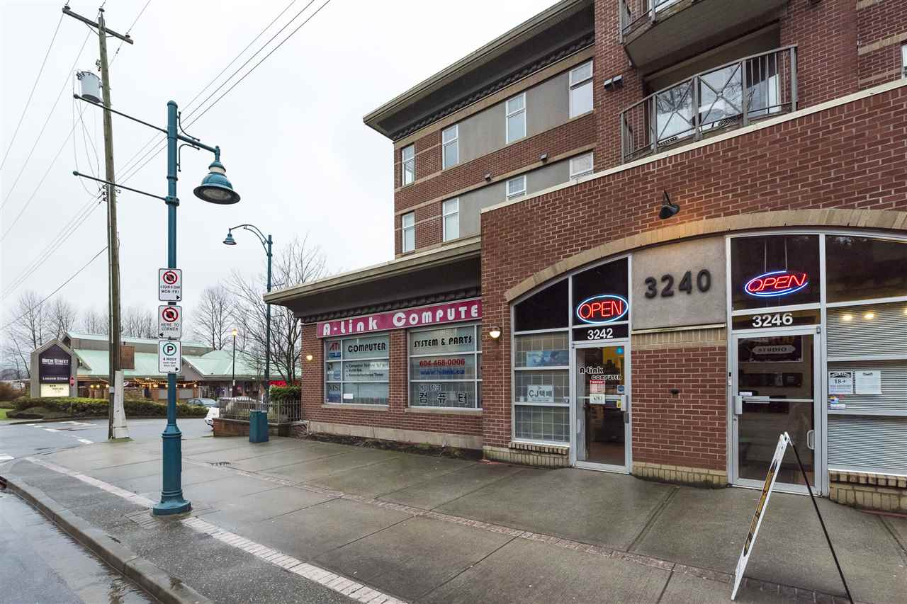 Fantastic ground floor retail space on busy St. John's Street! This main level, 579 sq.ft. unit has street front exposure, perfect for any customer-oriented business. Located within walking distance to Inlet Centre Station, this 2007-built concrete/brick construction building is situated perfectly for walk-in traffic that will your business grow! 2 Parking Stalls are allocated to this unit as well as it's own 2-piece washroom. Purchase it for your own business or as an investment. Call today to book a viewing!