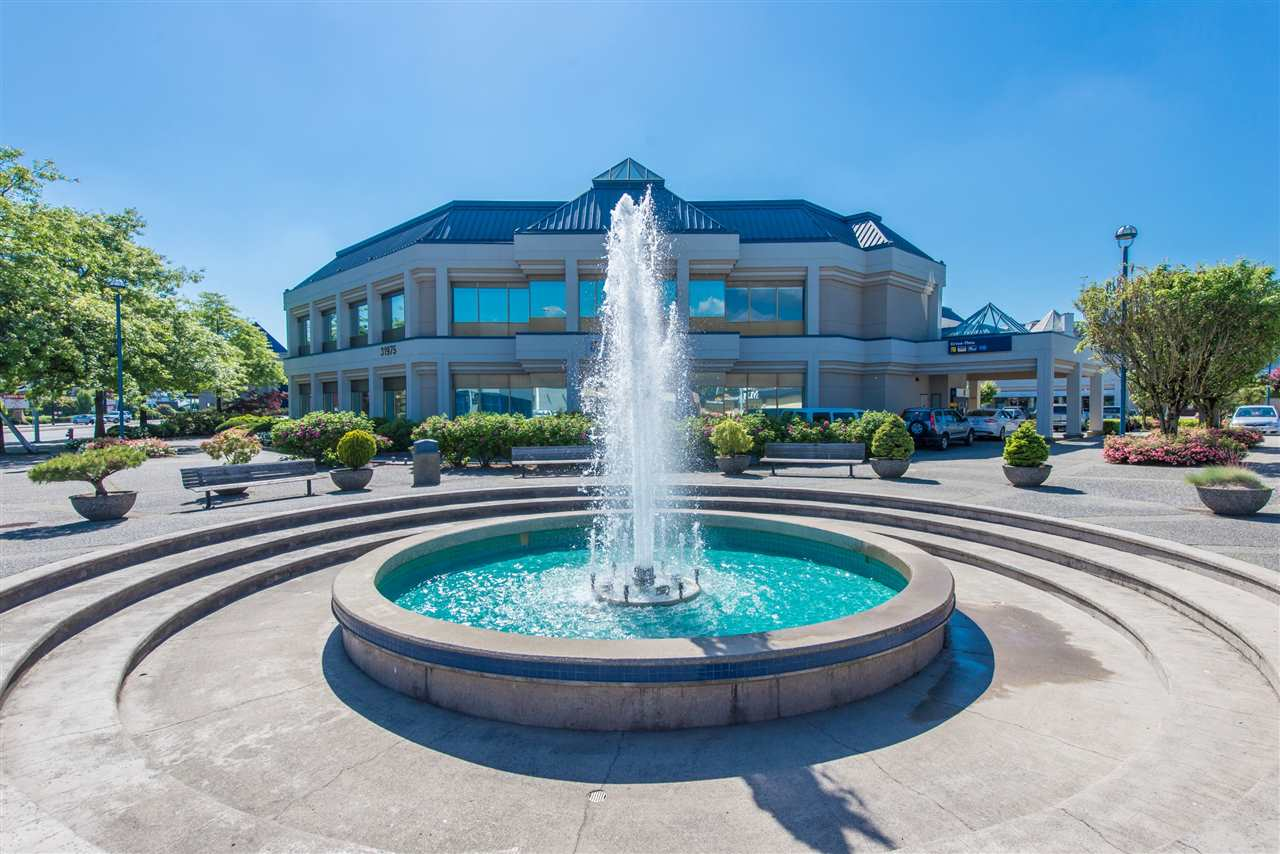 Clearbrook Plaza. Rare retail unit available at busy mixed-use plaza. Unit outfitted with 2 offices, storage, kitchenette and handicapped accessible washroom. Plaza is located at the northwest corner of South Fraser Way and Clearbrook Road.