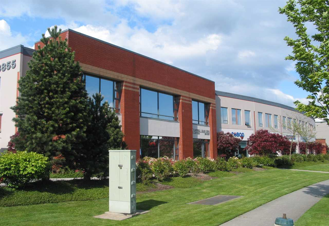 Second Floor Office space located in Bridge Business Park primely situated in the Boundary Rd and Lougheed Highway area off Burnaby. Unit features natural light, T-bar ceiling and carpeting throughout, HVAC system, Two (2) private offices and open work area. Three (3) parking stalls included; two (2) out front of unit and one(1) in back.