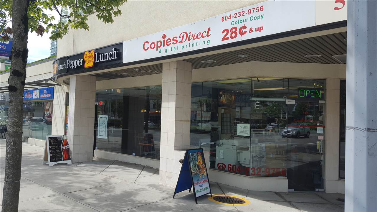 Digital printing & copies for commercial & retails. Prime location at No 3 & Westminster Hwy. Owner operated the business on the same location for over 15 years with large numbers of regular & repeat customers. Price includes all equipment. Good income & easy to operate. Owner will train.