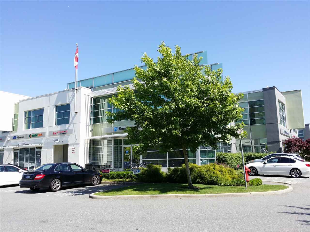 1,626 Square feet high quality second floor office located in Riverway Business Park on Marine Way and Byrne Road, a high volume intersection directly across from marine Way Market and Big Bend Shopping. This location offers excellent access to all Great Vancouver key market areas. Unit features HVAC throughout, open work area, two (2) private offices, boardroom, storage room, kitchenette/lunchroom, skylight, drop down t-bar ceiling and one (1) washroom. please contact listing agents for more details and to book a showing.