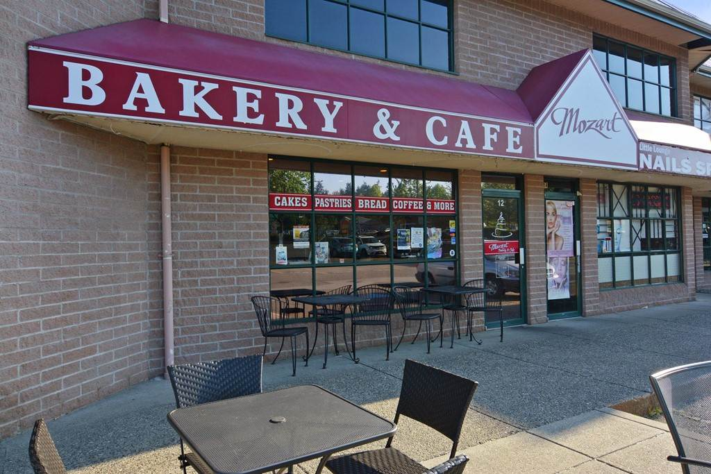 """""""Bakery Café"""" in busy Walnut Grove Strip Mall. 1,200 SF, 14 seating + patio. Open 6 days/week, Sunday & Holidays closed. This authentic Bakery Café serves original recipes using only the freshest ingredients & offers loaves of fresh-baked breads, rolls, desserts, pastries, and their signature cakes, and Café offers a variety of delicious sandwiches in Walnut Grove with homemade bread. Surrounded by Commercial & Residential development. Best bakery in town."""