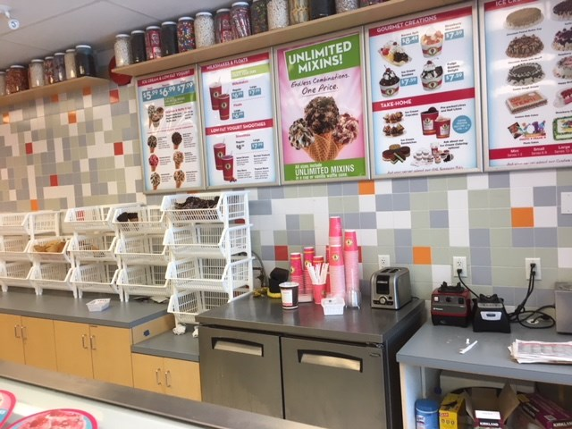 Lower Lonsdale Marble Slab Creamery in TD Bank Complex. An opportunity to become a franchisee of a well known brand with 392 locations around the world. Open 7 days a week: Sunday-Thurs 11-9pm & Friday-Saturday 11-9:30pm. High visibility with street front parking at grade. Most of the inventory is delivered by the suppliers. Only location in North Vancouver and established since 2012. Lease Rate: $39/SF.