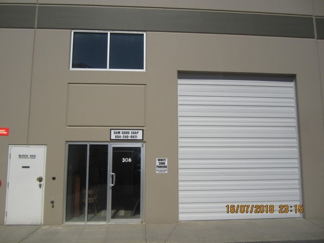 Affordable industrial unit ideal for storage or small business. Just minutes from Maple Ridge. You can join other successful businesses in this clean industrial park. Websters Corner Business Park call today. Quick possession available.