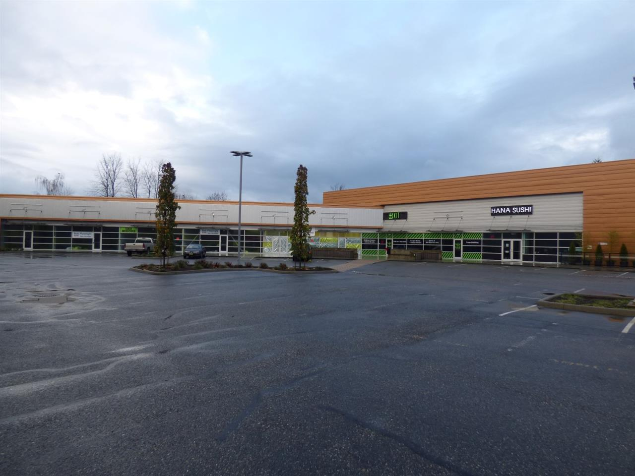 KEY PLAZA! New commercial Service/Retail centre on the main shopping corridor near the Chilliwack Mall & Cottonwood Shopping Centres. Ideal for retail stores, food outlets, insurance agencies, travel consultants, doctors, dental clinics, accountants & much more. Located a 1/2 km from the main entrance to Chilliwack at the Trans Canada HWY 1 interchange. Available now. Unit is roughed in for two washrooms. Ask about incentives &/or allowances for well qualified tenants entering into long term lease arrangements.