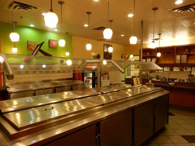 Self-serve salad bar franchise, Salad Loop, in Royal Center Food court. 5 days a week, 9 am - 4 pm only. All inclusive rent $5,900/month including hydro & CAM. Staff unaware, no direct contact. Easy to run, stable daily sales.