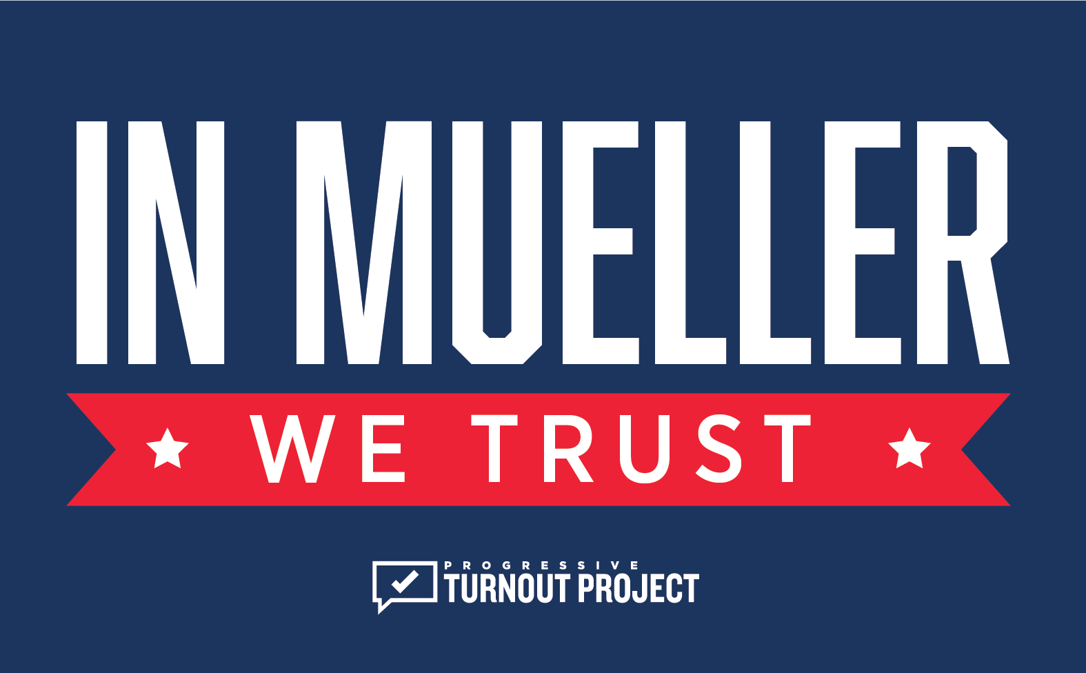 FREE In Mueller We Trust Stick...