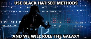 Don't believe those who tell black hat SEO is working!
