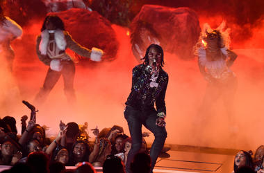 Offset of Migos performs onstage at the 2017 BET Awards