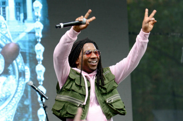 Lil B performs onstage during the 2018 Made In America Festival - Day 2 at Benjamin Franklin Parkway on September 2, 2018 in Philadelphia, Pennsylvania.