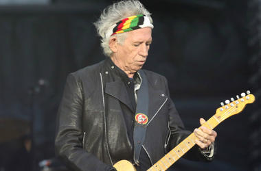 Keith Richards' debut solo album gets reissued for its 30th anniversary
