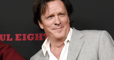 """FILE - This Dec. 7, 2015 file photo shows actor Michael Madsen at the premiere of """"The Hateful Eight"""" in Los Angeles.  (Photo by Chris Pizzello/Invision/AP, File)"""