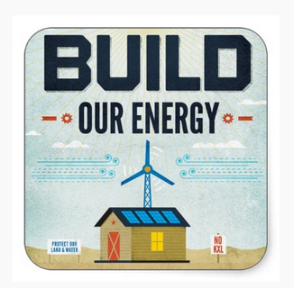 Build Our Energy Sticker