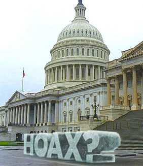 Ice hoax sculpture (artists rendering)