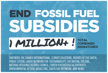 End Fossil Fuel Subsidies: Sign the Petition