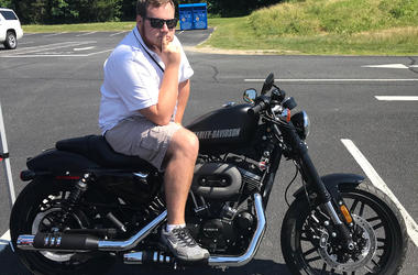 Chase on HTHS Harley