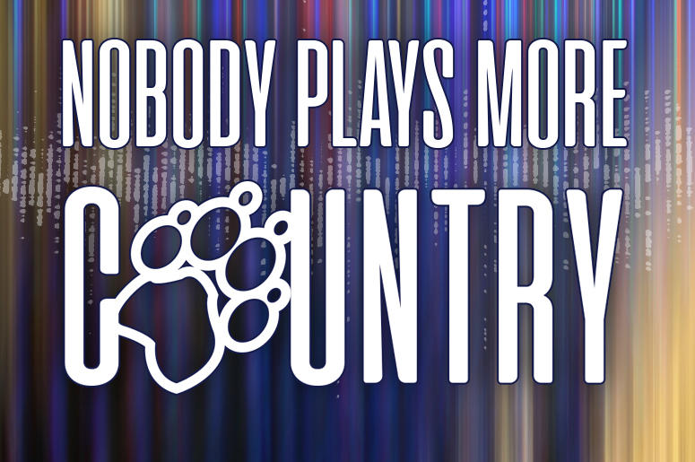 Nobody plays more country than 93.1 The Wolf
