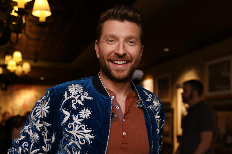 Brett Eldredge attends 'An Opry Salute to Ray Charles' at The Grand Ole Opry on October 8, 2018 in Nashville