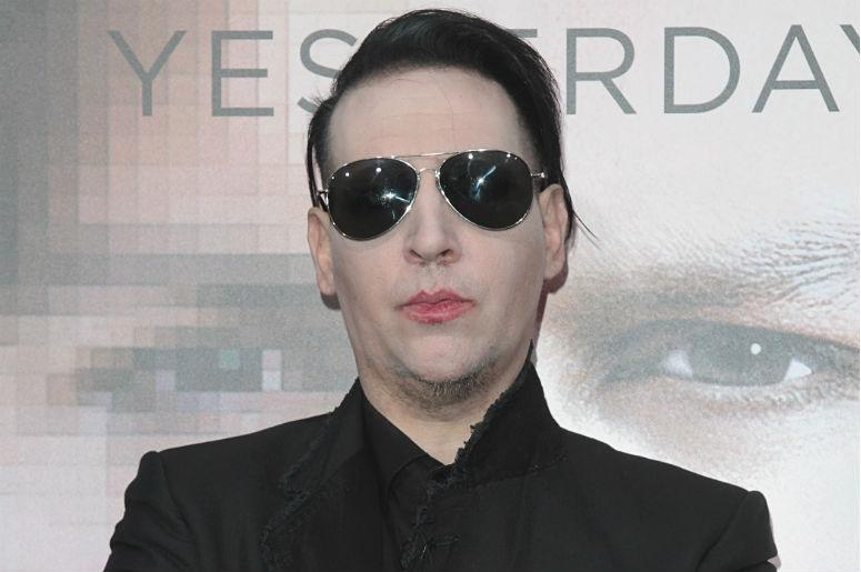 """Marilyn Manson attends The Los Angeles Premiere of """"Transcendance"""" at the Regency Village Theater"""