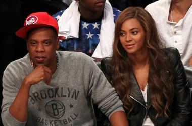 Singer Beyonce and husand, rapper JAY-Z
