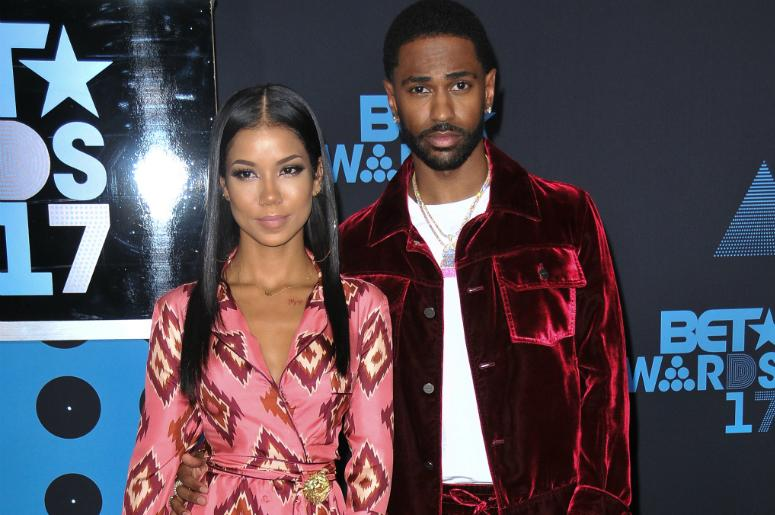 Jhene Aiko and Big Sean at the 2017 BET Awards held at Microsoft Theater on June 25, 2017 in Los Angeles, CA, USA
