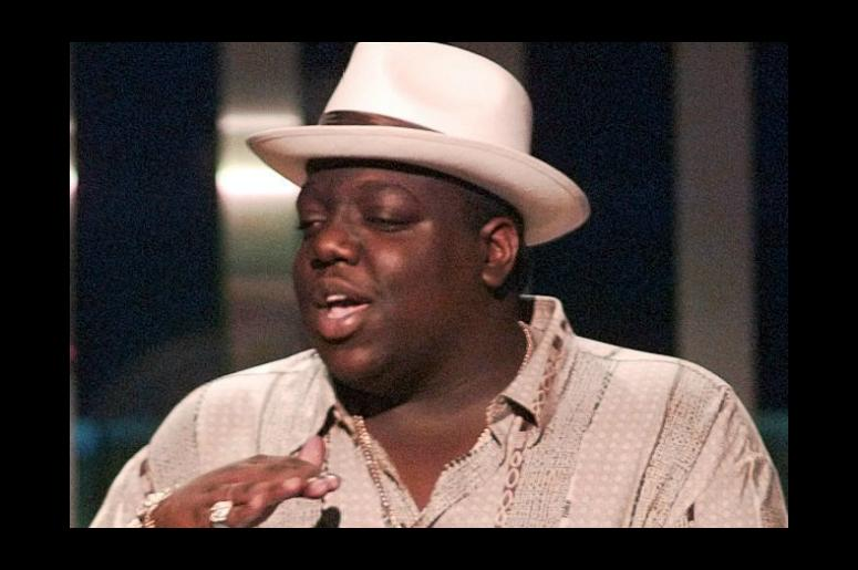Image result for biggie smalls with hat