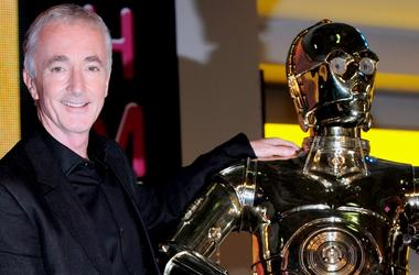 Anthony Daniels + C-3PO
