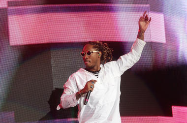 Future performs on the Coachella Stage during the first weekend of the 2017 Coachella Valley Music and Arts Festival in Indio, California on Saturday April 15, 2017.