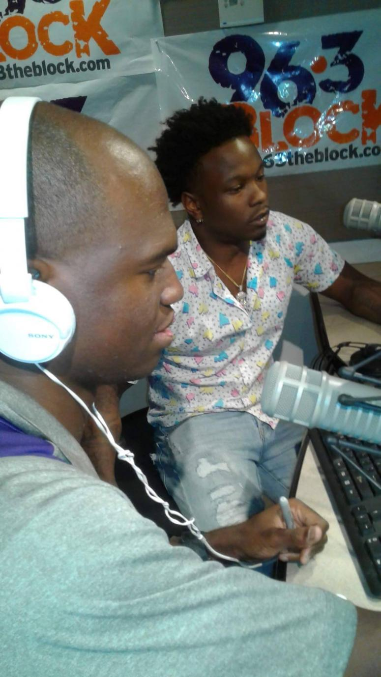 """Joe Gifted chats with JJ Solomon about """"Water"""" on 6/15 in the Rimtyme Studios of The Block"""