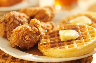 Chicken and waffles