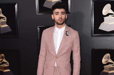 Zayn Malik at the 60th Annual Grammy Awards