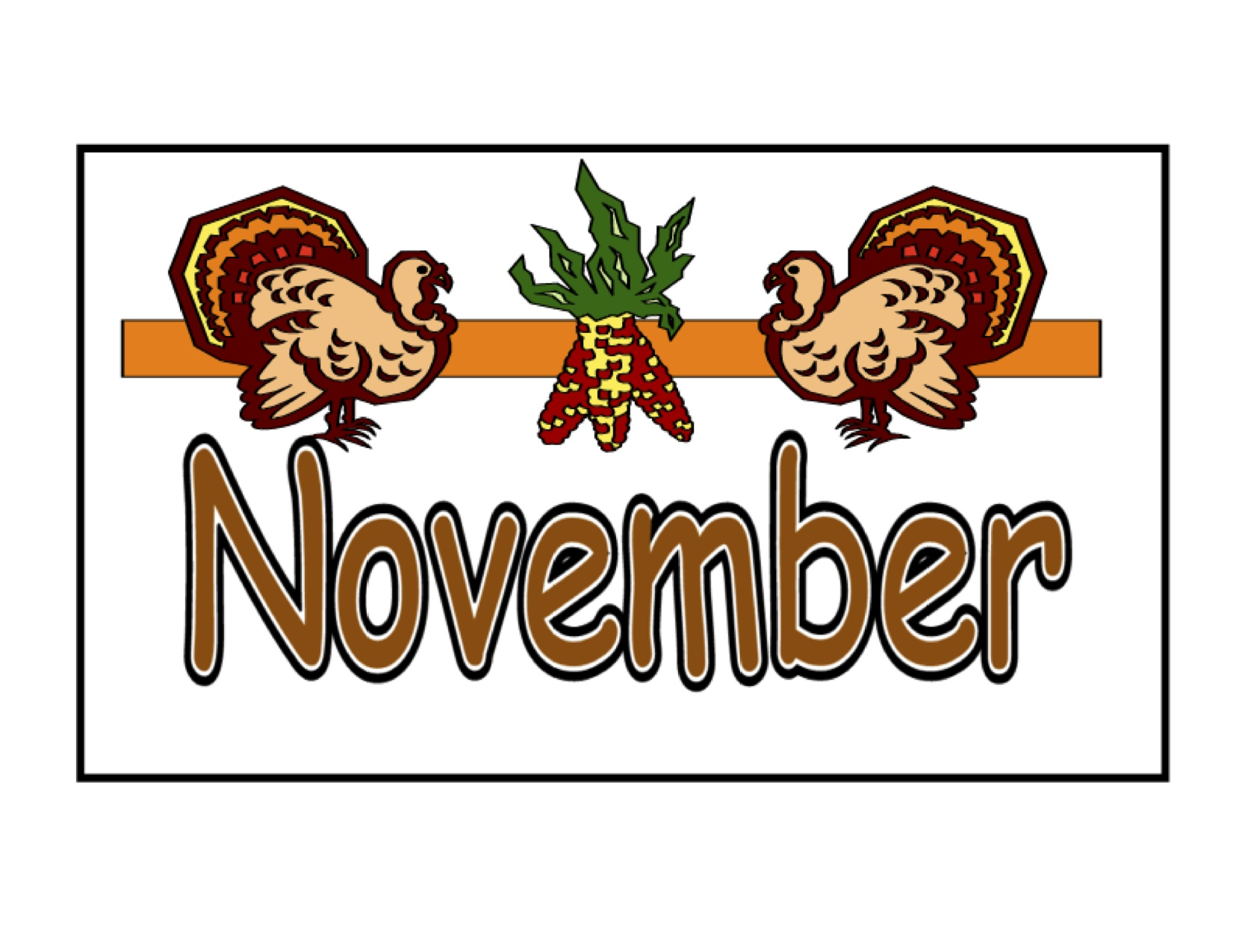 November Activities and Upcoming Webinar 1