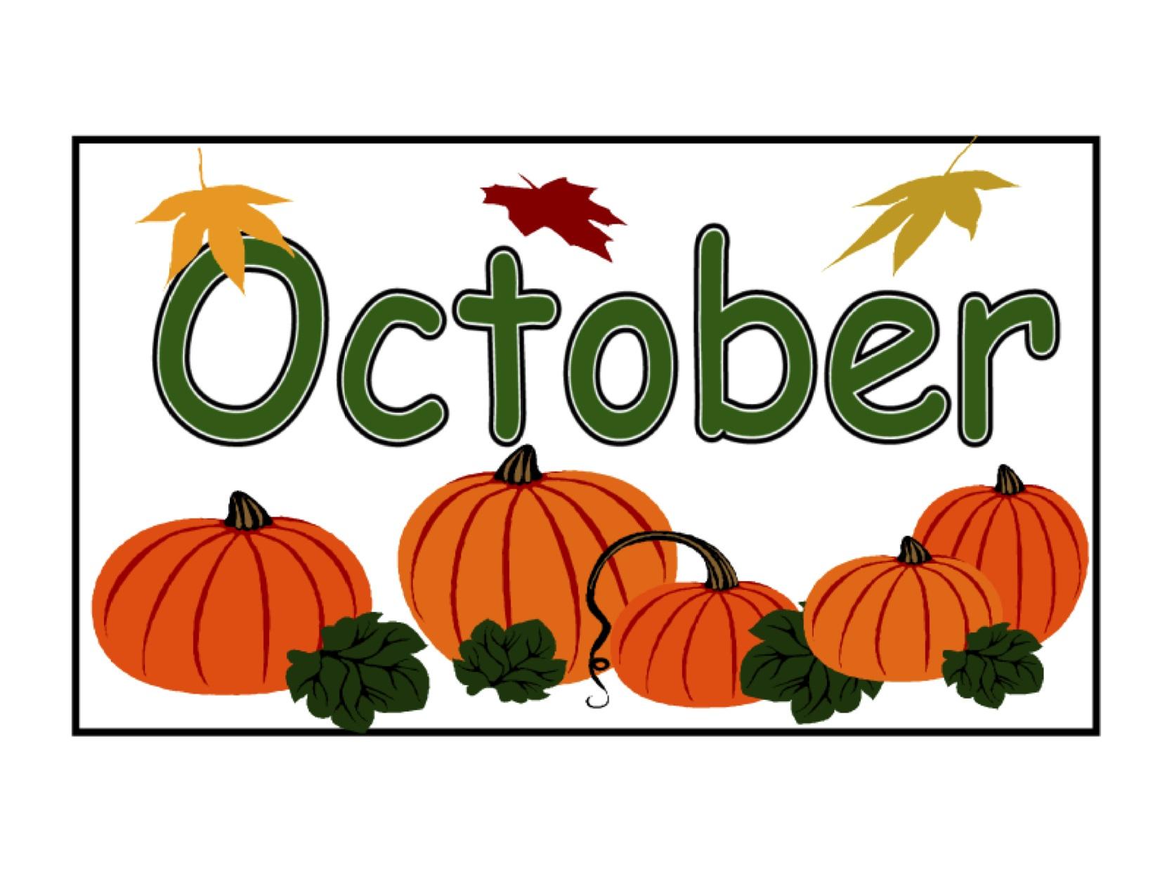 October Activities 1