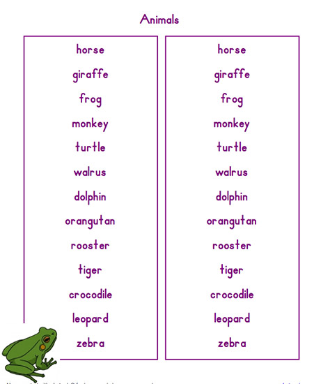 spelling list tool create custom worksheets for your class with abctools. Black Bedroom Furniture Sets. Home Design Ideas