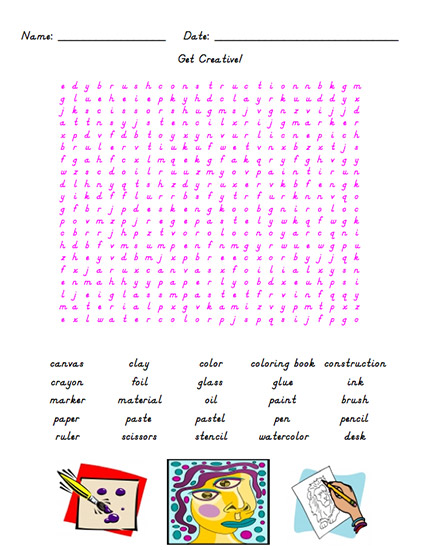 Educational word search puzzles for high school word for Gardening tools word search