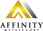 This image has an empty alt attribute; its file name is Affinity_Metals_Corp_Logo.png