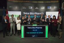 Tmx group limited tetra bio pharma inc  opens the market