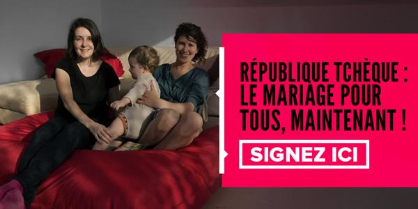 République tchèque: le mariage pour tous, MAINTENANT! Signez ici.