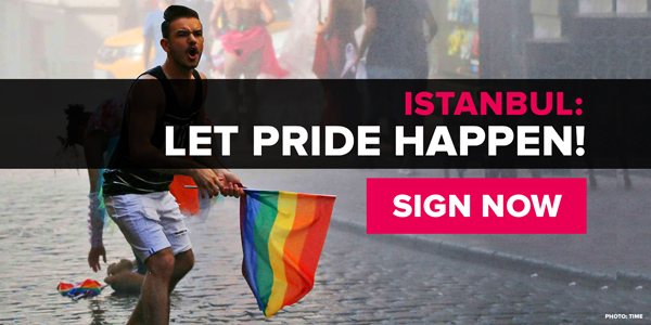 Istanbul: Let Pride happen. SIGN NOW!