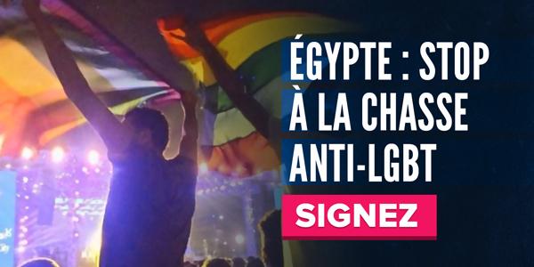 Égypte : stop à la chasse anti-LGBT. SIGNEZ