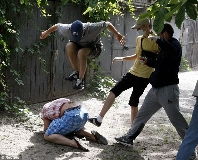 Ukrainian gay activist beaten