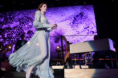 Florence Welch of Florence and the Machine performs onstage during KROQ Absolut Almost Acoustic Christmas 2018