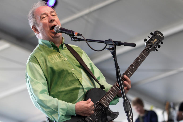 Pete Shelley of Buzzcocks performs in 2012