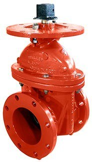 P2361-6 N R S  Resilient Wedge Gate Valve, Flanged Ends