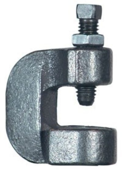 86 C-Clamp w/ Set Screw & Lock Nut