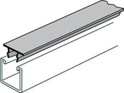 AS 707P Metal Painted Closure Strip