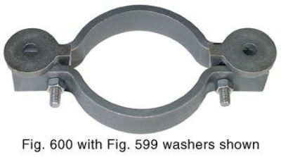 600 Socket Clamp for DI or CI Pipe