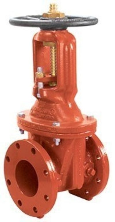 R-2360-6 O.S.&Y. Resilient Wedge Gate Valve, Flanged Ends